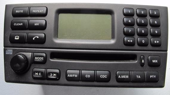 Radio CD Spieler inkl kode JAGUAR X-TYPE Elektrisch