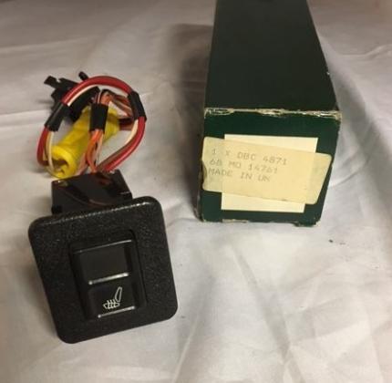 Stoelschakelaar DBC4871 JAGUAR XJ / XJ40 / XJS Elektrisch