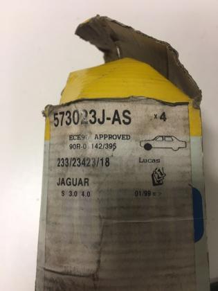 Remblokken voor JAGUAR S-TYPE Uitverkoop