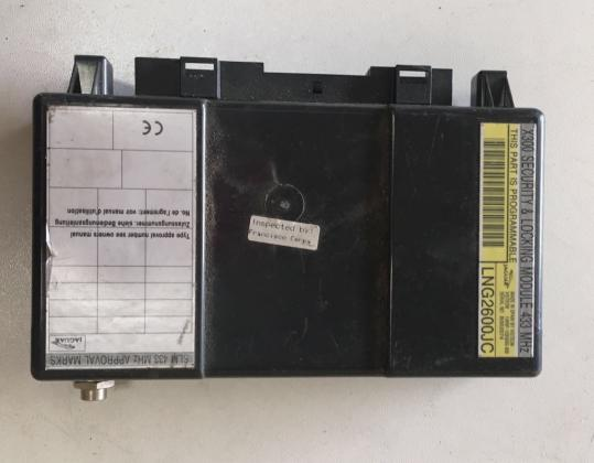 LNG2600JC-XJ308 SECURITY-LOCKING-MODULE JAGUAR XJ300-XJ308 Elektrisch