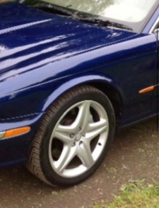Jaguar velgenset 19 Inch 8.5 J Custom C2C17297 JAGUAR XJ 350 Velgen