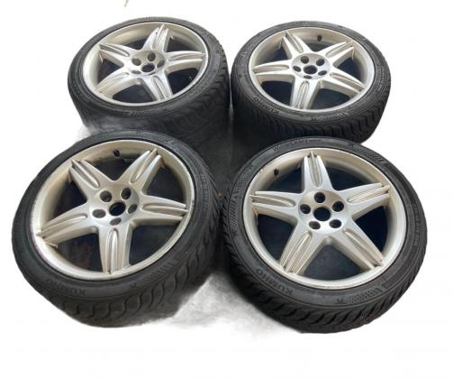 Wheel set XR827037-XR838372 8.5 9.5x19-ZEUS JAGUAR S-TYPE Llantas